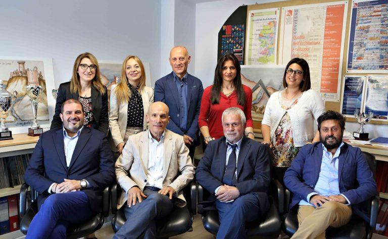 Ordine degli architetti di Vibo, Fabio Foti eletto presidente
