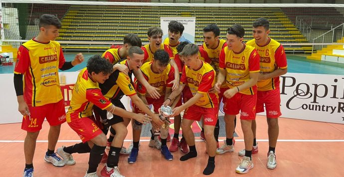 Volley, la Tonno Callipo conquista il titolo regionale Under 19