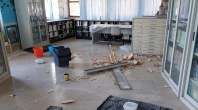 Biblioteca comunale di Vibo, benvenuti nel degrado e nell'abbandono