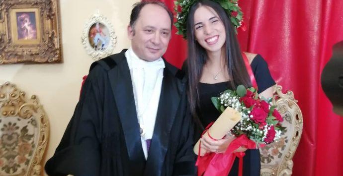 Antonella, dal 110 e lode all'Istituto di criminologia di Vibo alla Marina militare
