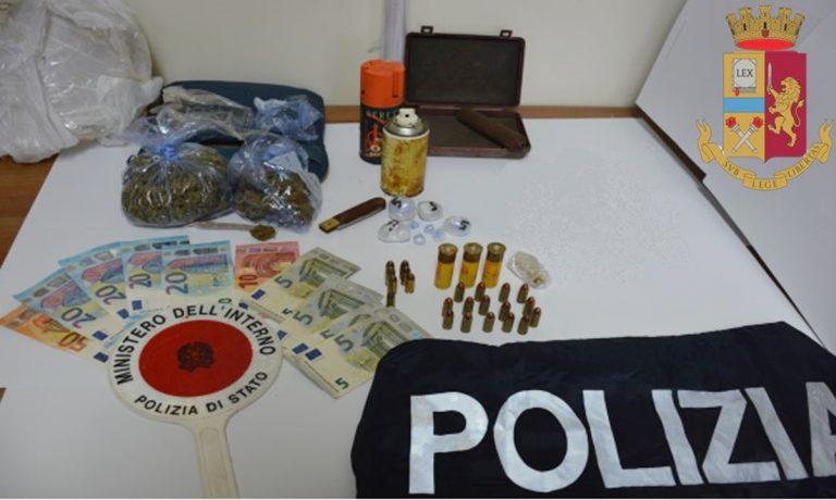 Piscopio, aveva cocaina e marijuana in casa: arrestato 23enne