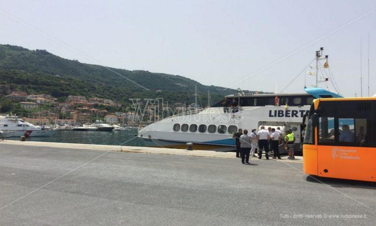 Riprendono i collegamenti con aliscafo da Vibo Marina alle Eolie e in Sicilia