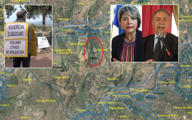 Discarica a Dinami, il sindaco di Vibo difende la scelta fra le proteste dei residenti