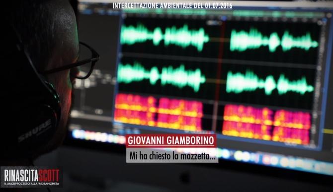 Giovanni Giamborino e la mazzetta richiesta: stasera nel format LaC Rinascita Scott -Video