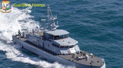 Tappa al porto di Vibo Marina per il nuovo pattugliatore della Guardia di finanza