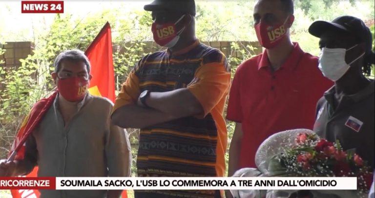 L'Usb a San Calogero per non dimenticare Soumaila Sacko