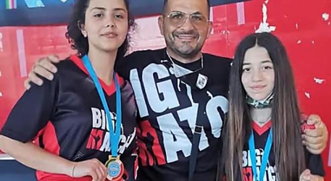 Campionati italiani kick boxing, trionfa l'atleta della Big match San Calogero Sara Mahfoudh