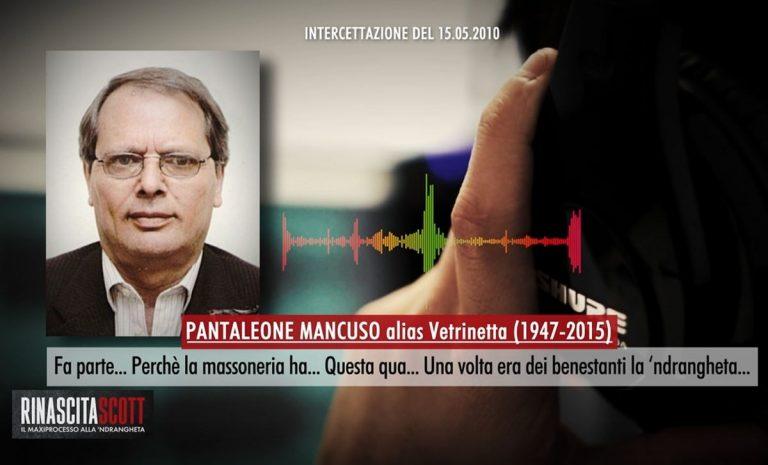 «La 'ndrangheta fa parte della massoneria»: l'intercettazione nel format LaC Rinascita Scott