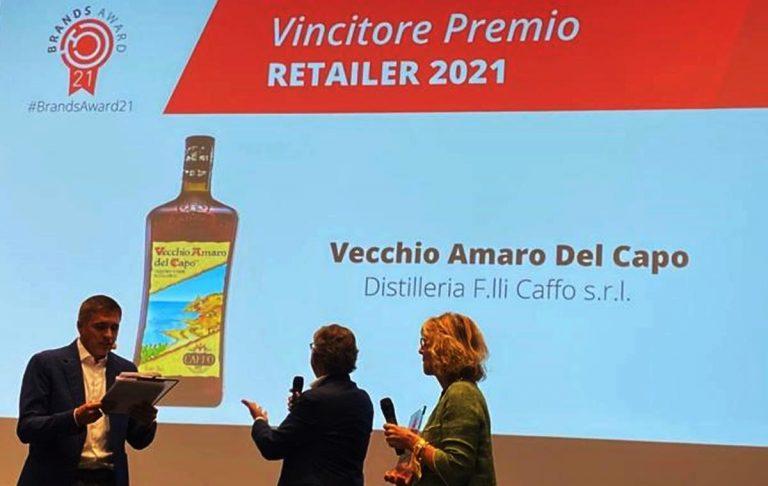 Vecchio Amaro del Capo trionfa al prestigioso Brands Award 2021
