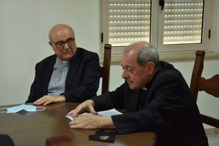 Diocesi di Mileto, monsignor Oliva ai giornalisti: «Non tacete sulla legalità»