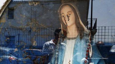 """Madonnina """"piange"""" a San Gregorio d'Ippona: il liquido non è sangue"""