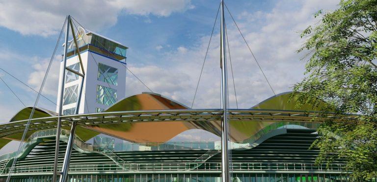 Vibo Marina, l'area della ex Italcementi trasformata in un Parco polivalente-Video