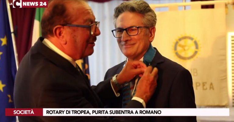 Tropea, passaggio di consegne al Rotary club: Purita subentra a Romano – Video