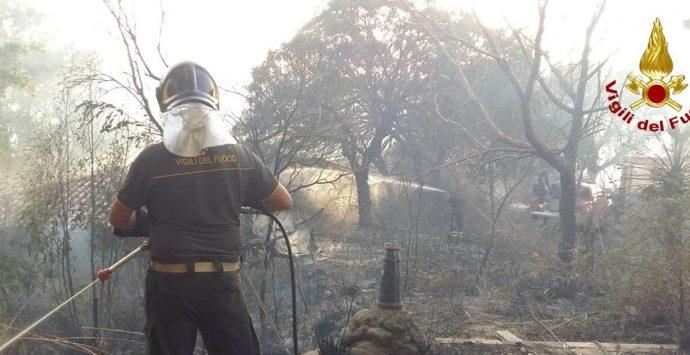 Incendi in Calabria, il sottosegretario Dalila Nesci: «Il Governo ha risposto»