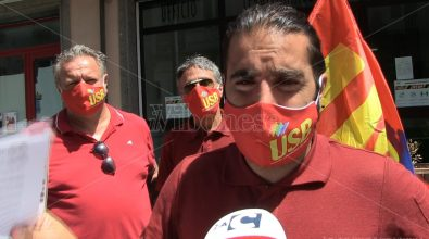 Vigili del fuoco calabresi allo stremo delle forze, scatta la protesta dell'Usb -Video
