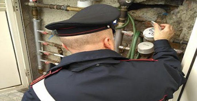 Allacci abusivi alla rete idrica scoperti dai carabinieri nelle Preserre, scatta la denuncia