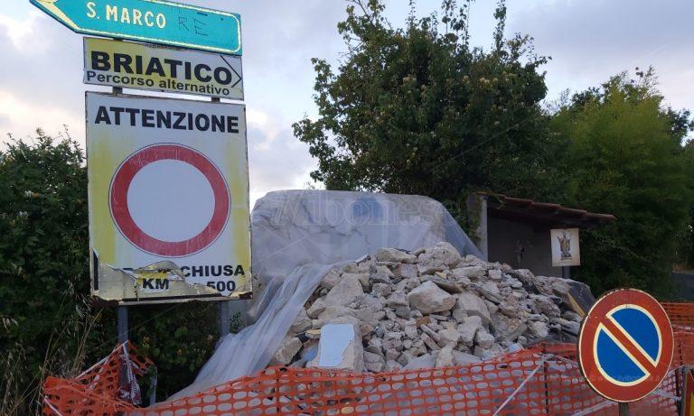 Cessaniti: la cappella San Basilio distrutta da un incidente verso la ricostruzione
