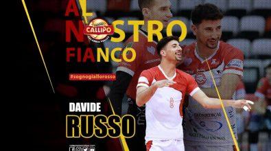 Volley, la Tonno Callipo si rinforza in seconda linea con l'arrivo dell'azzurro Davide Russo