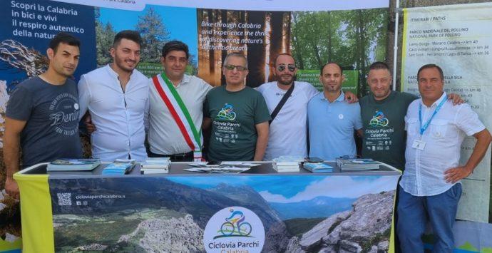 Fabrizia, giungerà oggi la 35esima tappa dell'Appennino Bike Tour