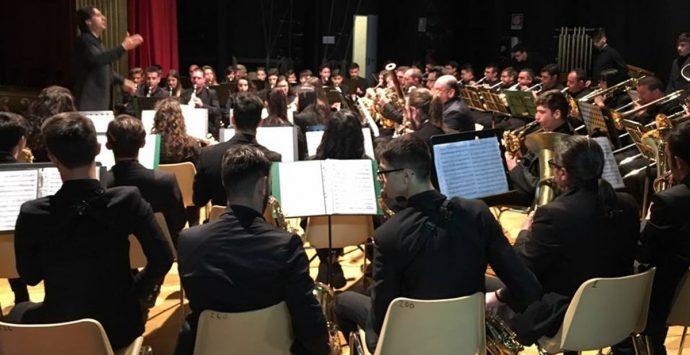 L'orchestra di Fiati Tirrenium della Provincia di Vibo di scena a Tropea