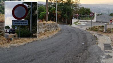 Vibo, strada Candrilli-Cancello Rosso: l'inaugurazione in pompa magna e poi la chiusura – Video