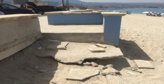 Vibo Marina, spiaggia libera off limits per i disabili