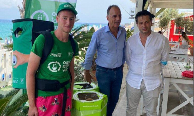 """""""Nei Parchi Marini Calabria Ogni lattina… vale"""", l'iniziativa promossa dal Comune di Vibo"""
