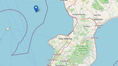 Terremoto 4.4 nel Mar Tirreno, scosse avvertite anche nel Vibonese