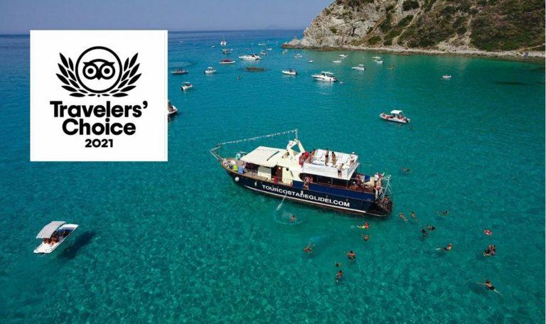 Il tour della Costa degli dei vince il premio di Travelers' Choice 2021