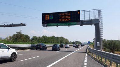 Weekend di Ferragosto, traffico da bollino rosso in direzione Sud