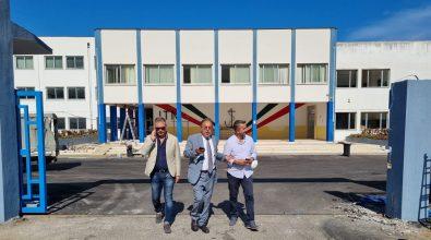 Sopralluogo di Provincia e questore al Nautico di Pizzo: lunedì l'arrivo di Mattarella