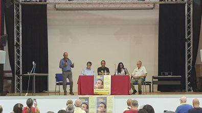 Mimmo Lucano a Vibo Valentia: «Il razzismo è il male dei nostri tempi»