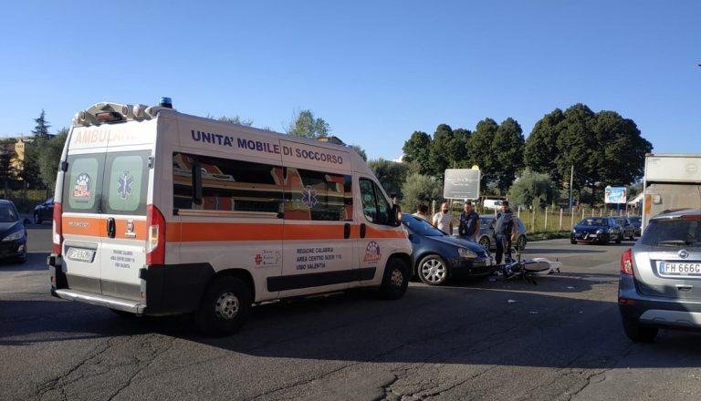 Incidente stradale questa mattina a Vibo: un ferito