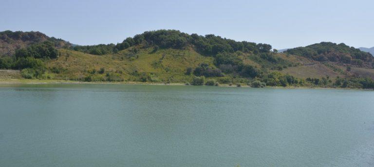 Ripulito il lago dell'Angitola nel Vibonese, in campo FareAmbiente