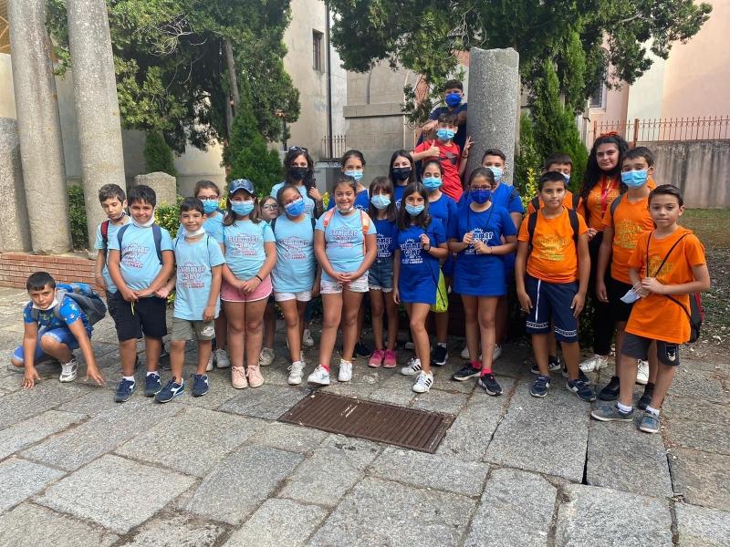 """Il centro estivo ha coinvolto i ragazzi in attività didattiche, culturali e ludico-creative. Escursioni alla Fattoria """"Mafrica"""" e al Museo statale di Mileto"""