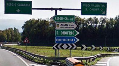 Lavori infiniti sull'autostrada, limitazioni fra Pizzo e Sant'Onofrio