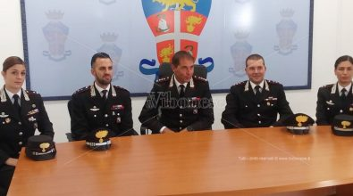 Carabinieri di Vibo e Serra: nuovi vertici per Compagnia, Norm e Nucleo Investigativo – Video
