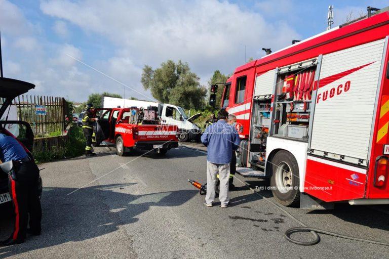 Incidente stradale a Vibo, due i feriti