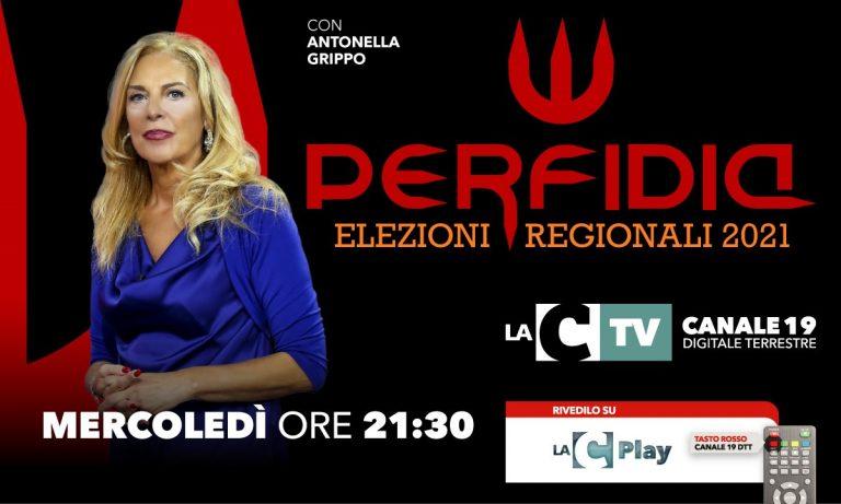 Al via la nuova edizione di Perfidia: De Magistris primo ospite di Antonella Grippo – VIDEO
