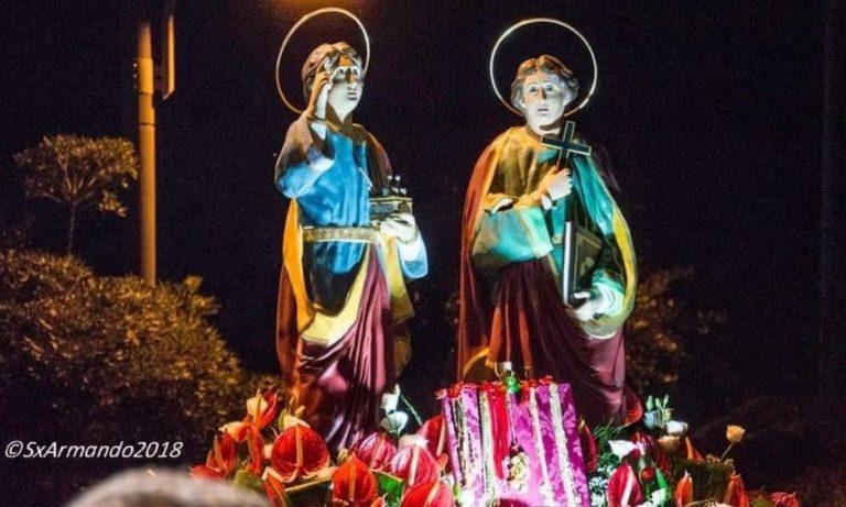 "Bivona festeggia Cosma e Damiano, i santi ""anargiri"""