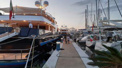 Il lussuoso yacht di Valentino approda a Vibo Marina