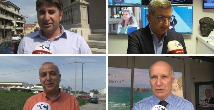 Regionali, i quattro neoeletti consiglieri del Vibonese tra impegni, annunci e promesse – Video