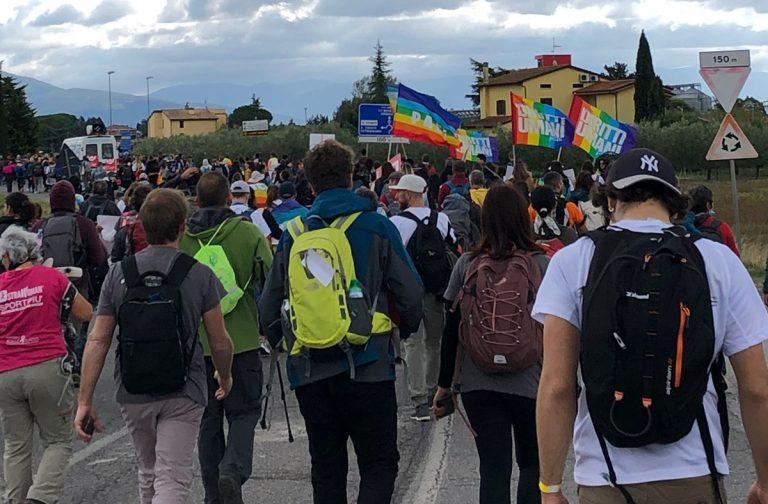 Il Csv alla Marcia Perugia Assisi, presente una delegazione di giovani vibonesi