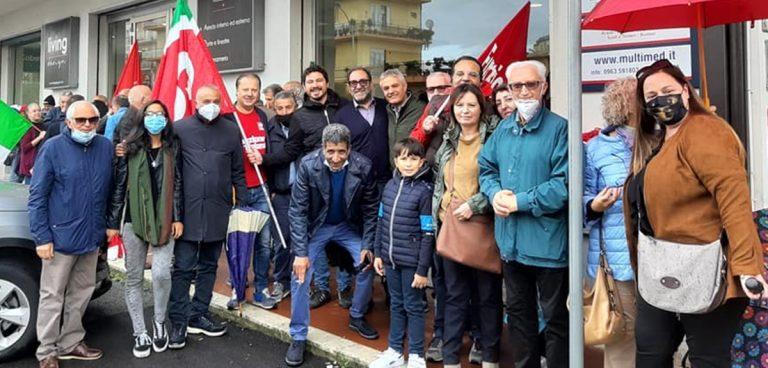 Assalto alla Cgil di Roma, la vicinanza e la condanna del Pd vibonese