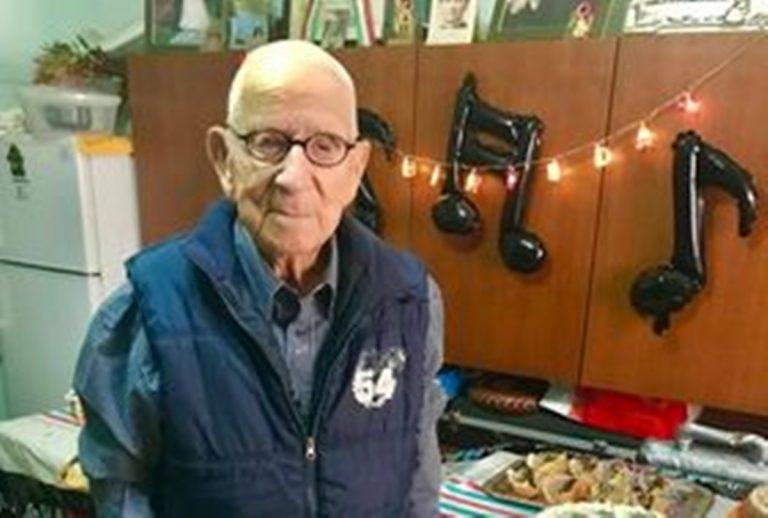 Il nonno più longevo della Calabria è del Vibonese: oggi compie 109 anni – Video