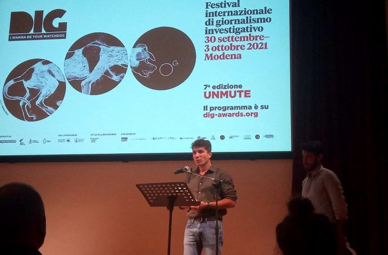 Al vibonese Borello menzione speciale nel festival del giornalismo investigativo