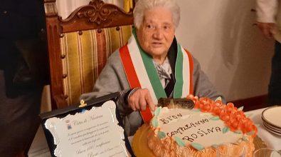 Nicotera festeggia nonna Rosina per i suoi cento anni