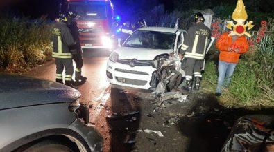 Incidente tra 3 auto lungo la statale 19 nei pressi dello svincolo A2 Pizzo