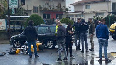 Incidente sulla Ss18 a Vibo: un ferito nello scontro tra un'auto e una moto