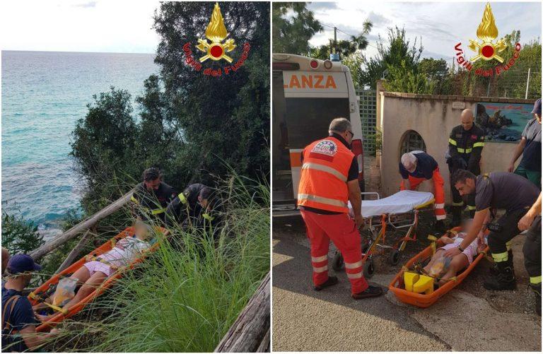 """Turista si ferisce al """"Paradiso del sub"""": necessario l'intervento dei vigili del fuoco"""